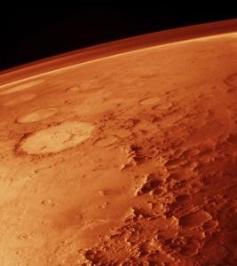 Mars atmosfär. Foto: NASA